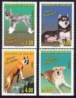 BOLIVIA 2006 Cani FAUNA,DOGS YV 1256-9 Mi 1673-6 MNH - Cani