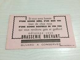 BUVARD Ancien BRASSERIE BREVART BIÈRE - Liqueur & Bière