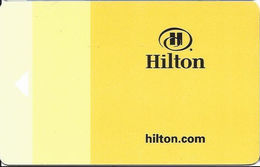 Hilton Hotel Room Key Card - Hotel Keycards