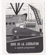 Pub.1946 Bons De La Libération à Intérêt Progressif  TBE - Publicités