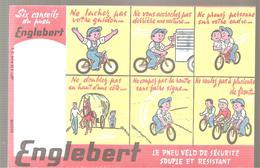 Buvard ENGLEBERT Le Pneu Vélo De Sécurité Souple Et Résistant - Sports