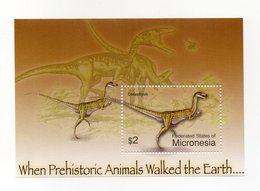 Micronesia - Foglietto Tematica Animali Preistorici - 1 Valore - Nuovo - Vedi Foto - (FDC13785) - Micronesia