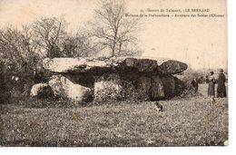 LE BERNARD , CANTON DE TALMONT : Dolmen De La Frebouchere. - France