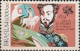 BRAZIL - DEATH SESQUICENTENARY OF DOM PEDRO I (1798-1834), EMPEROR OF BRAZIL 1984 - MNH - Brazil
