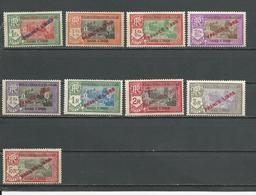 INDE FRANCAISE Scott 125-126, 129-134 Yvert 141-142, 144-150 (9) ** Sauf 132(148)* Cote 55,00 $ 1941 - India (1892-1954)