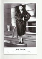 JEAN HARLOW - Film Star Pin Up PHOTO POSTCARD - 6-424 Swiftsure Postcard - Artistas
