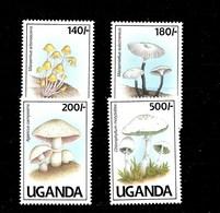Serie De Uganda Nº Yvert 762/65 ** SETAS (MUSHROOMS) - Uganda (1962-...)