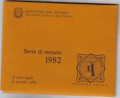 Italia 1982 Divisionale In Lire Fdc - Jahressets & Polierte Platten
