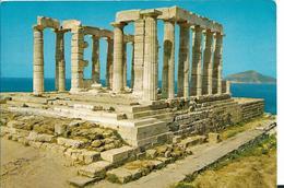 SOUNION LE TEMPLE DE POSEIDON - Grèce