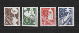 Deutschland BRD **  167-170 Verkehrsausstellung München Katalog 80,00 - [7] République Fédérale