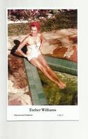 ESTHER WILLIAMS - Film Star Pin Up PHOTO POSTCARD - C46-1 Swiftsure Postcard - Künstler