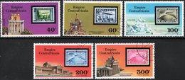 IMPERO CENTRAFRICANO, CENTRAL AFRICAN EMPIRE, REPUBBLICA CENTRAFRICANA, 1977, ANNULLATI  Scott 295,296,C184-C186 - Centrafricaine (République)