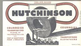 Buvard HUTCHINSON Courroies Transmissions Plates Et  Trapezoïdales - Buvards, Protège-cahiers Illustrés