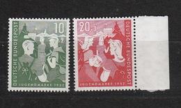 Deutschland BRD **  153-154 Jugend Geprüft  Katalog 40,00 - Unused Stamps