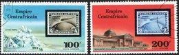 IMPERO CENTRAFRICANO, CENTRAL AFRICAN EMPIRE, REPUBBLICA CENTRAFRICANA, 1977, ANNULLATI  Scott C184,C185 - Repubblica Centroafricana