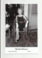 MARILYN MONROE - Film Star Pin Up PHOTO POSTCARD - 201-877 Swiftsure Postcard - Artistes