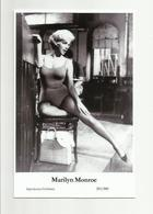 MARILYN MONROE - Film Star Pin Up PHOTO POSTCARD - 201-880 Swiftsure Postcard - Artistes