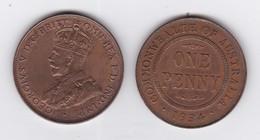 """12 """"PENNY""""  GEORGE V - Années 1914,15x2,16,18,19,20,21,22,23,33,34 - Monnaie Pré-décimale (1910-1965)"""