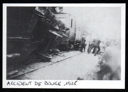 1986  --  ACCIDENT DE TRAIN DE BAUGE 49 EN 1926   3Q426 - Non Classés