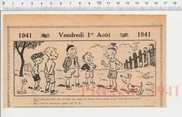2 Scans Humour 1941 Devinette Ascenseur Ancien Bande D'enfants 223XS - Non Classés