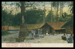 CONGO -  Povo Do Luzo.  Carte Postale - Angola