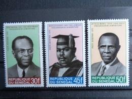 SENEGAL 1970 P.A. Y&T N° 81 à 83 ** - PRECURSEURS DE LA NEGRITUDE - Sénégal (1960-...)