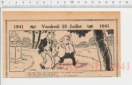2 Scans Humour 1941 Métier Aviateur Et Scaphandrier Librairie ? Encrier Encien Publicité Encre à Stylo Plume ? 223XS - Non Classés