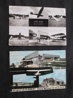 LOT 2 CP BELGIQUE (V1714) SAINT-HUBERT (2 Vues) Centre National De Vol à Voile - Aéroport St Hubert - Saint-Hubert