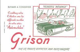 Buvard GRISON Série Automobile VEDETTE Régence - Chaussures