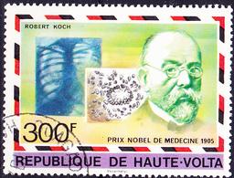 Obervolta Upper Haute - Nobelpreis R. Koch 1905 (Mi.Nr.: 688) 1977 - Gest Used Obl - Haute-Volta (1958-1984)