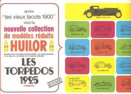 Buvard HUILOR LES TORPEDOS 1925 (13 MODELES) - Alimentaire