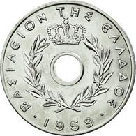 Monnaie, Grèce, 20 Lepta, 1959, SUP, Aluminium, KM:79 - Grèce
