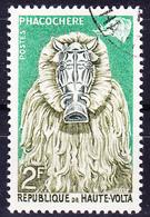 Obervolta Upper Haute - Tiermasken Der Bobo-Stämme (Mi.Nr.: 75) 1960 - Gest Used Obl - Haute-Volta (1958-1984)
