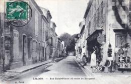 24 - Dordogne - LALINDE - Rue Saint Pierre Et Route De Bergerac - France