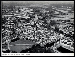 1965  --  REDON  VUE AERIENNE SUR LE CENTRE   3Q432 - Non Classés