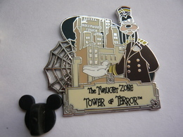 Big Pin S Disney TOWER OF TERROR 4,5 X 4 Cm Neuf - Disney