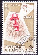 Obervolta Upper Haute - Tiermasken Der Bobo-Stämme (Mi.Nr.: 77 1960 - Gest Used Obl - Haute-Volta (1958-1984)