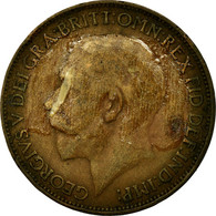 Monnaie, Grande-Bretagne, George V, 1/2 Penny, 1912, B+, Bronze, KM:809 - 1902-1971 : Monnaies Post-Victoriennes