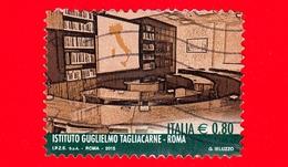 """ITALIA - Usato - 2015 - Le Eccellenze Del Sapere - Istituto """"Guglielmo Tagliacarne"""", Roma - 0,80 - 6. 1946-.. Repubblica"""