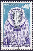 Obervolta Upper Haute - Tiermasken Der Bobo-Stämme (Mi.Nr.: 76) 1960 - Gest Used Obl - Haute-Volta (1958-1984)