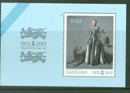 Denmark 2012; Queen Margrethe 40 Years Jubilee - MB 47.** (MNH) - Nuovi