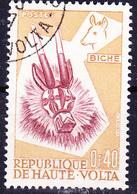 Obervolta Upper Haute - Tiermasken Der Bobo-Stämme (Mi.Nr.: 72) 1960 - Gest Used Obl - Haute-Volta (1958-1984)