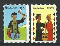 ZIMBABWE 2003 EMPOWERMENT OF WOMEN SET MNH - Zimbabwe (1980-...)