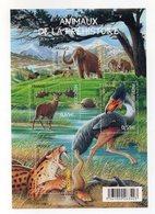Francia - Foglietto Tematica Animali Preistorici - 4 Valori - Nuovo - Vedi Foto - (FDC13789) - Francobolli