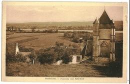 FRENEUSE Panorama Vers MARTOT - France