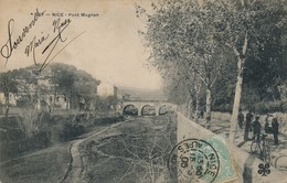 I31 - 06 - NICE - Alpes Maritimes - Pont Magnan - Nizza