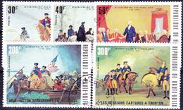 Obervolta Upper Haute - 200 Jahre Unabhängigkeit Der USA (Mi.Nr.: 569/73) 1975 - Gest Used Obl - Haute-Volta (1958-1984)