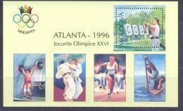 1996. Moldova, Olympic Games Atlanta, S/s, Mint/** - Moldavia