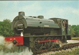 Locomotive R.S.H. 0-6-0 Saddle Tank No.150 Warrington. Built 1944.  B-3424 - Stations With Trains