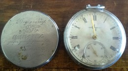 """MECHANICAL OLD CLOCK WRISTWATCH MADE RUSSIA USSR """"LUTC"""" 1960th - Watches: Old"""